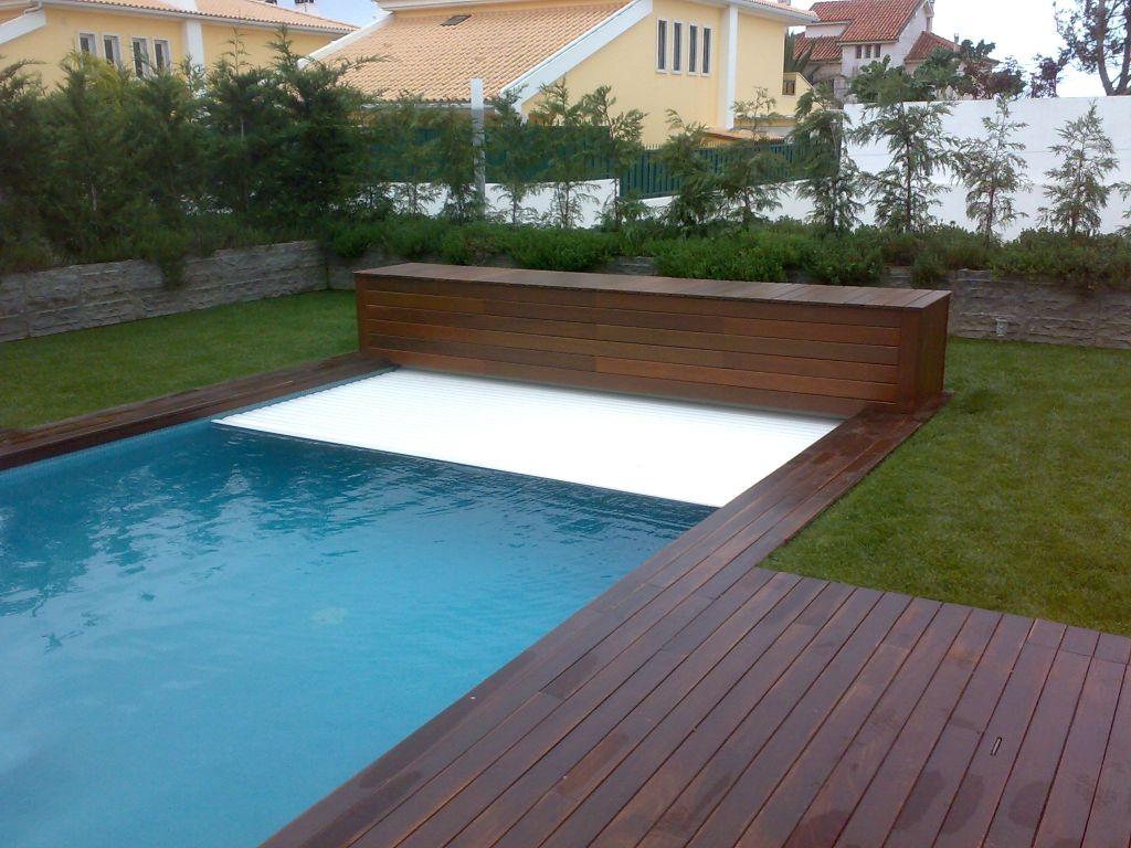 Cobertura autom tica de seguran a para piscina poolset for Cobertura piscina