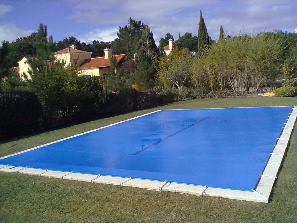 Cobertura de inverno para piscinas exteriores poolset - Piscinas exteriores ...